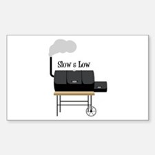 Slow & Low Decal