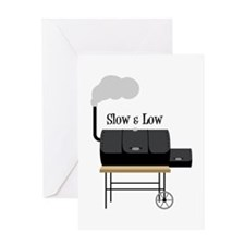 Slow & Low Greeting Cards