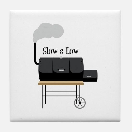 Slow & Low Tile Coaster