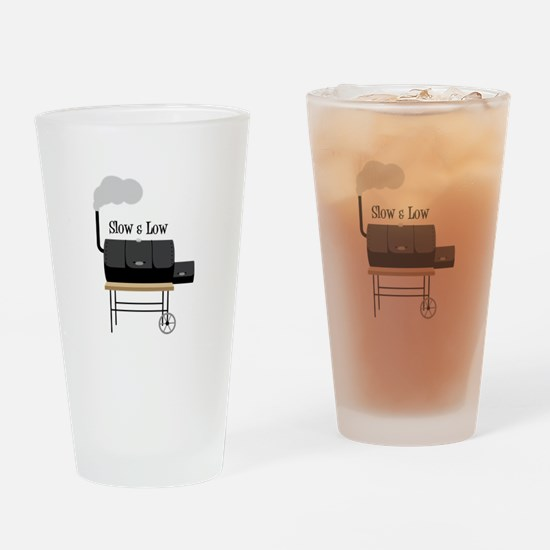 Slow & Low Drinking Glass