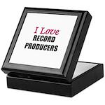 I Love RECORD PRODUCERS Keepsake Box
