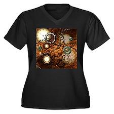 Steampunk Plus Size T-Shirt