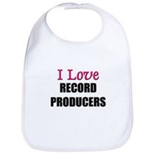 I Love RECORD PRODUCERS Bib
