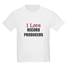 I Love RECORD PRODUCERS T-Shirt