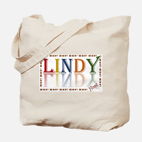 Lindy Hop! retro color Tote Bag
