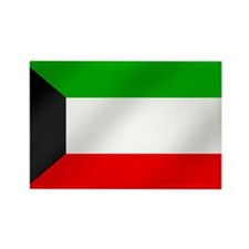 Flag of Kuwait Rectangle Magnet