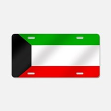 Flag of Kuwait Aluminum License Plate
