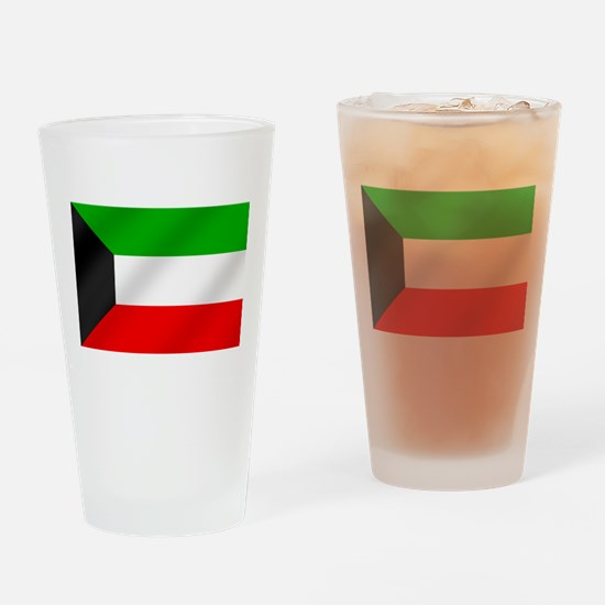 Flag of Kuwait Drinking Glass