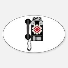 Vintage Payphone Telephone Decal
