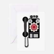 Vintage Payphone Telephone Greeting Cards