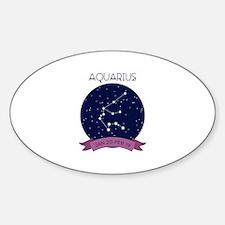 Aquarius Constellation Decal