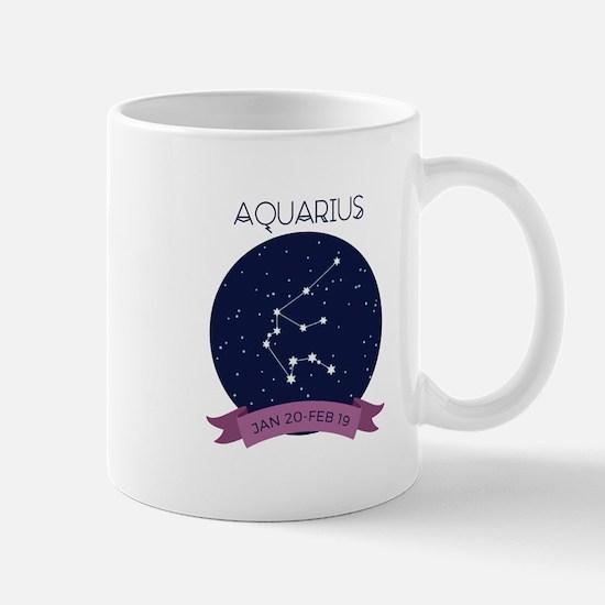 Aquarius Constellation Mugs