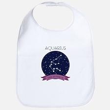 Aquarius Constellation Bib