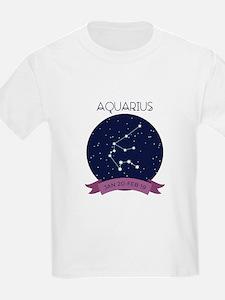 Aquarius Constellation T-Shirt