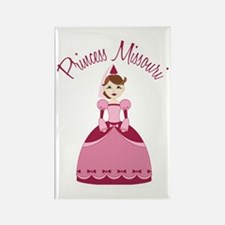 Princess Missouri Rectangle Magnet (10 pack)