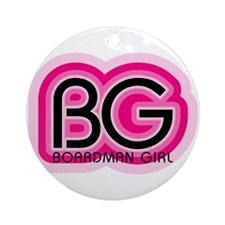 Boardman Girl Ornament (Round)