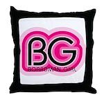 Boardman Girl Throw Pillow