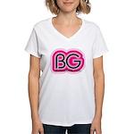 Boardman Girl Women's V-Neck T-Shirt