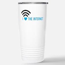Love The Internet Travel Mug
