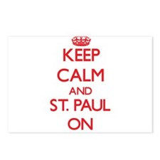 Keep Calm and St. Paul ON Postcards (Package of 8)