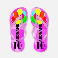 Awesome 10th Flip Flops