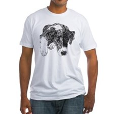 Merle Great Dane in dots Shirt