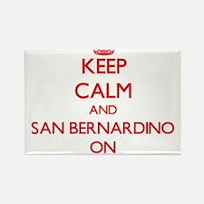 Keep Calm and San Bernardino ON Magnets