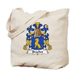 Brachet Family Crest Tote Bag