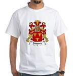 Bouvard Family Crest White T-Shirt