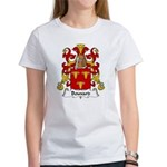 Bouvard Family Crest Women's T-Shirt