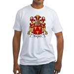 Bouvard Family Crest Fitted T-Shirt