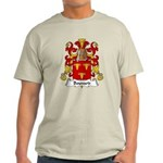 Bouvard Family Crest Light T-Shirt