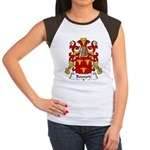 Bouvard Family Crest Women's Cap Sleeve T-Shirt