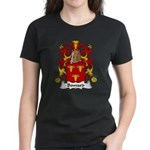 Bouvard Family Crest Women's Dark T-Shirt