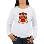 Bouvard Family Crest Women's Long Sleeve T-Shirt