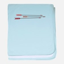 Arrows baby blanket
