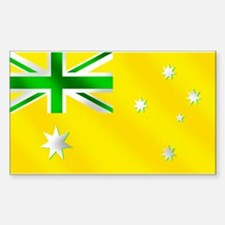 Australian Sports Flag Decal