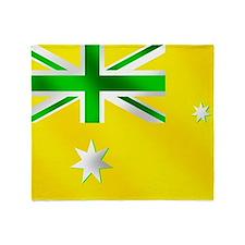 Australian Sports Flag Throw Blanket
