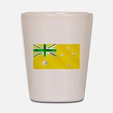 Australian Sports Flag Shot Glass