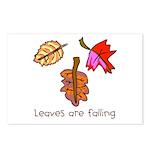 Kid Art Leaves Postcards (Package of 8)