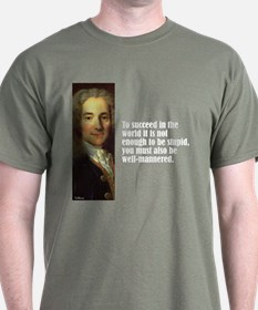 "Voltaire ""To Succeed"" T-Shirt"
