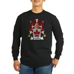 Boutillier Family Crest Long Sleeve Dark T-Shirt