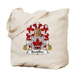 Boutillier Family Crest Tote Bag