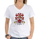 Boutillier Family Crest Women's V-Neck T-Shirt