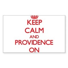 Keep Calm and Providence ON Decal