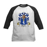 Boutet Family Crest Kids Baseball Jersey