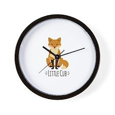 Little Cub Wall Clock