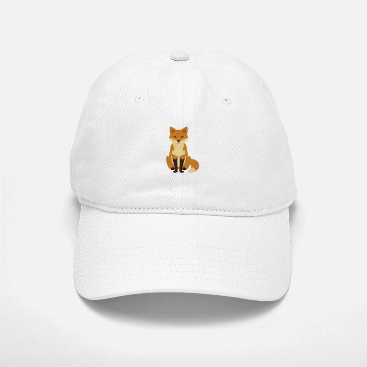 Cute Fox Baseball Baseball Baseball Cap
