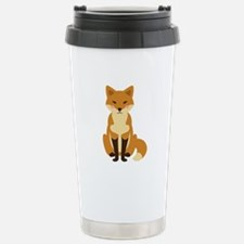 Cute Fox Travel Mug