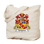 Boussard Family Crest Tote Bag